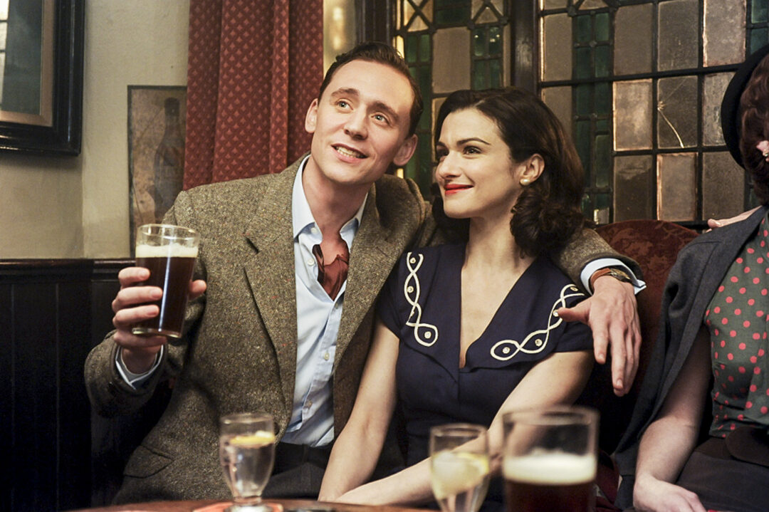 "Freddie Page (Tom Hiddleston) and Hester Collyer (Rachel Weisz) in Terence Davies' ""Deep Blue Sea."" ©Music Box Films. CR: Liam Daniel."