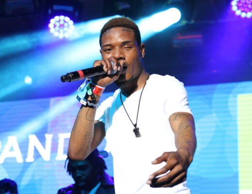 AUSTIN, TX - MARCH 19:  Fetty Wap performs onstage at the Pandora Discovery Den showcase during the 2015 SXSW Music, Film + Interactive Festival at The Gatsby on March 19, 2015 in Austin, Texas.  (Photo by Andy Pareti/Getty Images for SXSW)