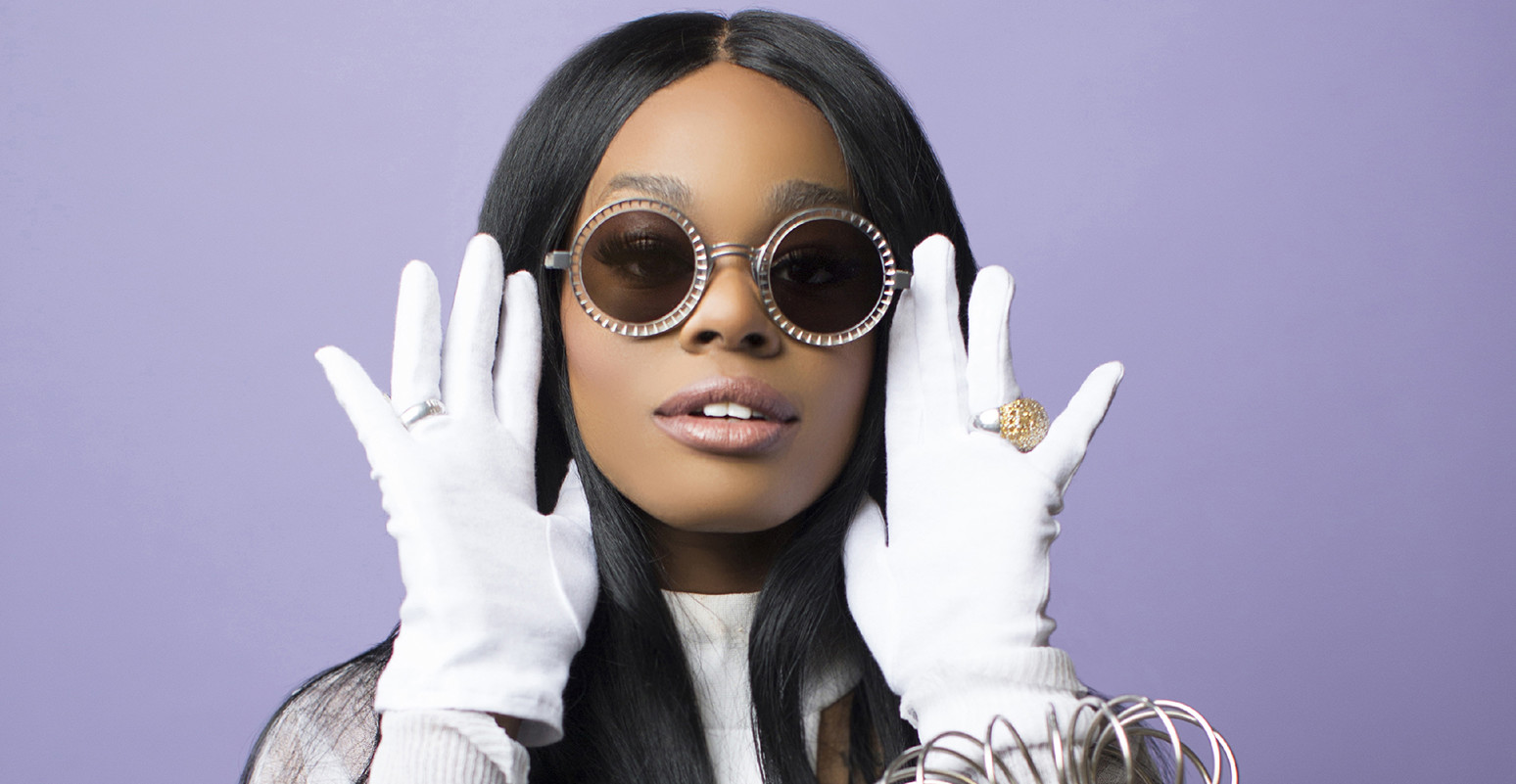 Rapper Azealia Banks poses for a portrait on March 13, 2016 in Brooklyn, New York. (Photo by Santiago Felipe/Getty Images Portrait)